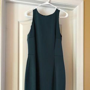 Emerald Green Dress from Mango